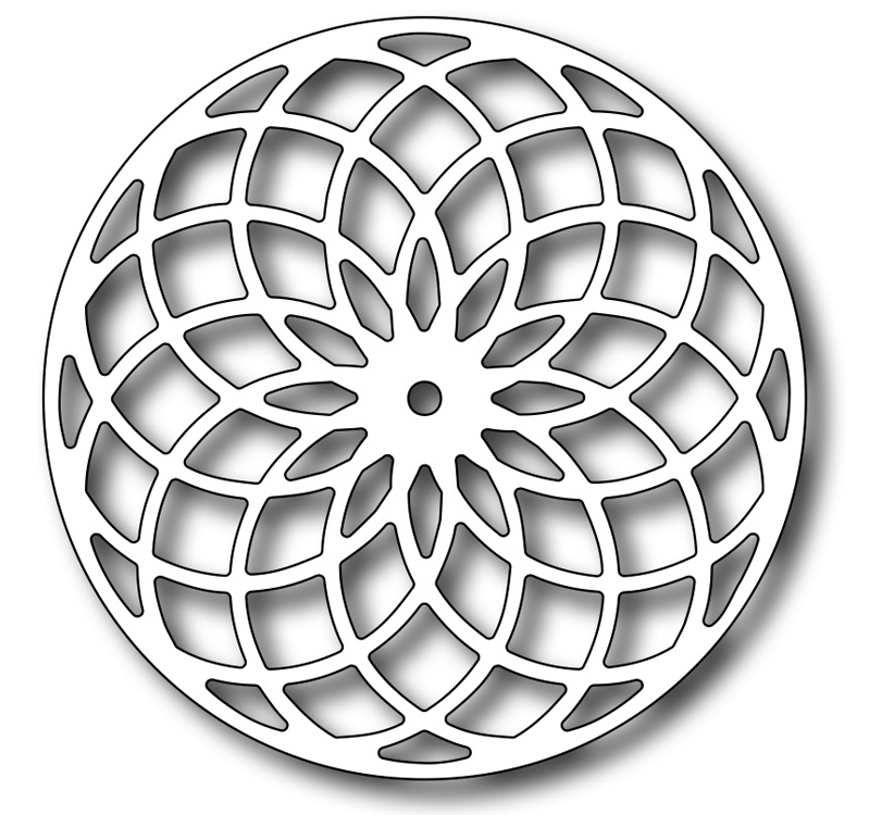 Precision Die - Floral Eye Dazzler Medallion