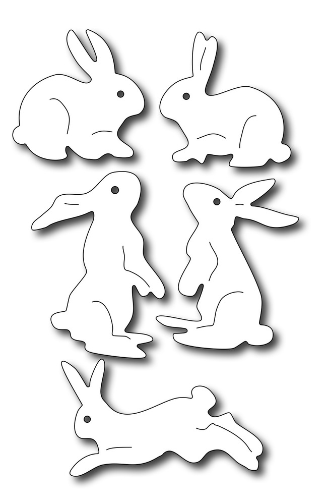 Precision Die - Assorted Bunnies