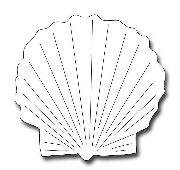 Precision Die - Scallop Shell