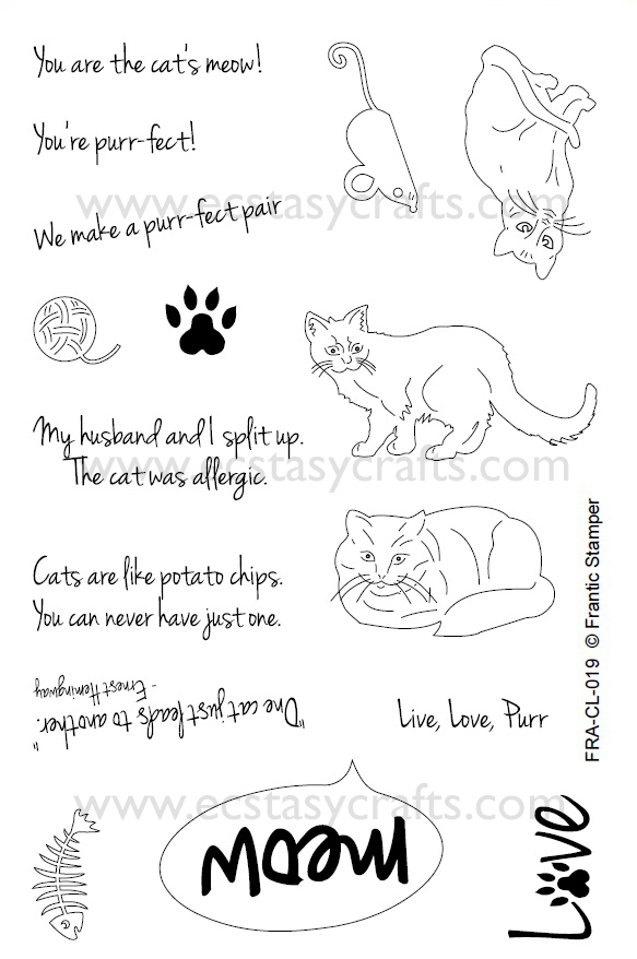 Clear Stamp Set - Cat's Meow