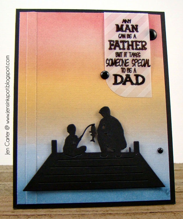 Clear Stamp Set - My Favorite Dad