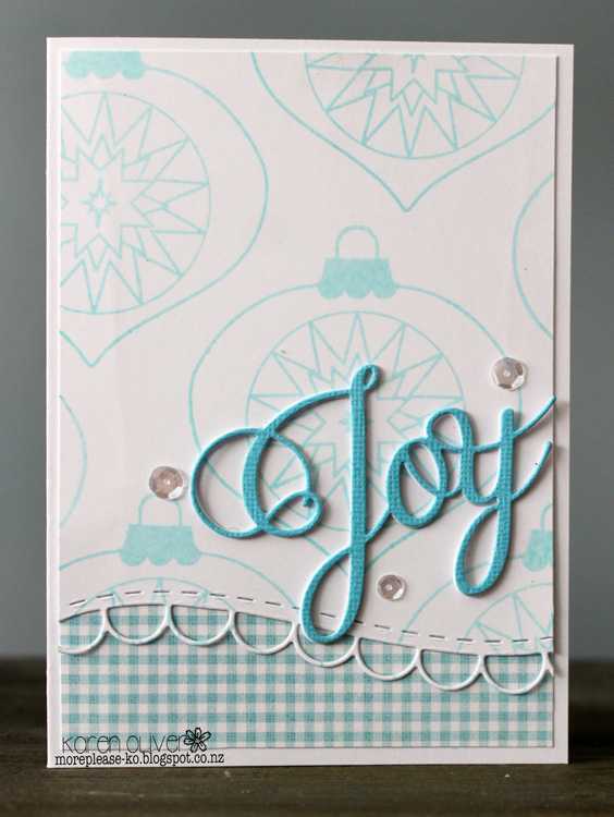 Clear Stamp Set - Finial Ornaments