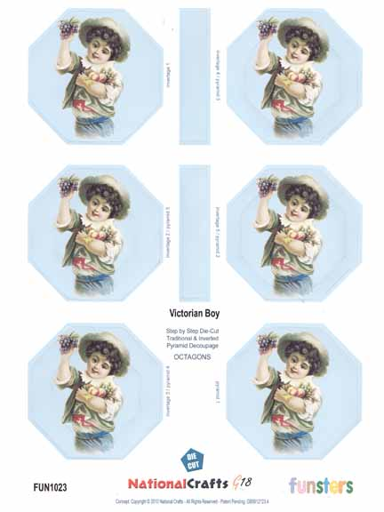 National Crafts G18 Funsters - Victorian Boy