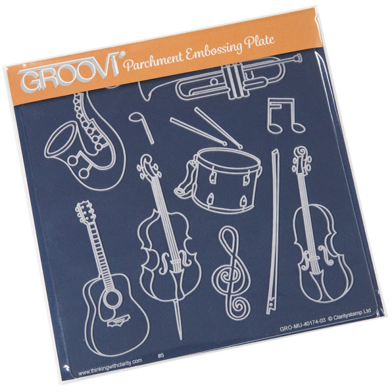 Groovi Musical Instruments Plate A5 Sq