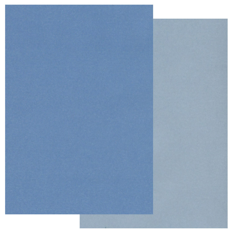 Ecstasy Crafts Two Tone Parchment Paper -Blue