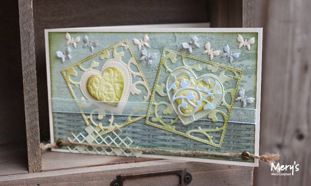 Ecstasy Crafts Joy! Crafts Cutting Die - Square With Heart