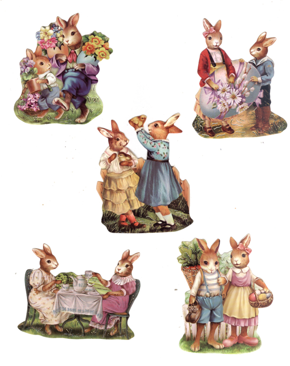 Easy 3D Toppers: Easter Vintage (1)