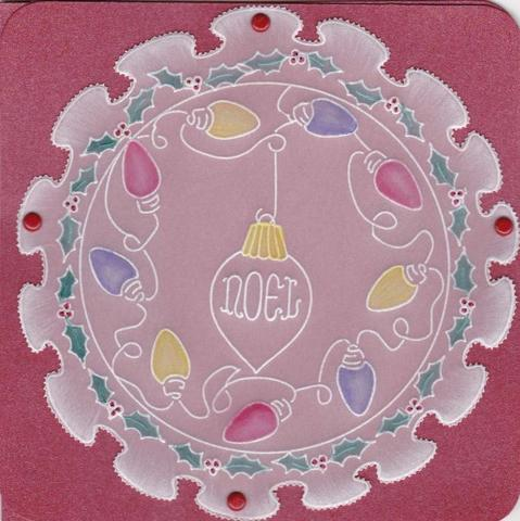 Ecstasy Crafts Groovi Frilly Circle A5 Sq