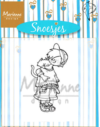 Marianne Design Clear Stamps - Snoesjes With Kitten