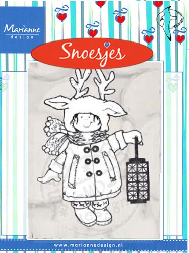 Marianne Design Clear Stamps - Snoesje - Christmas Custom