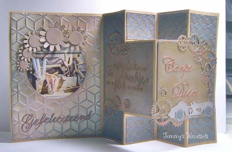 Nellie's Choice - Embossing/die Cut Folder Round Diamonds