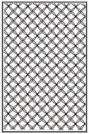 Ecstasy Crafts Embossing Folder A4 Size - Gauze