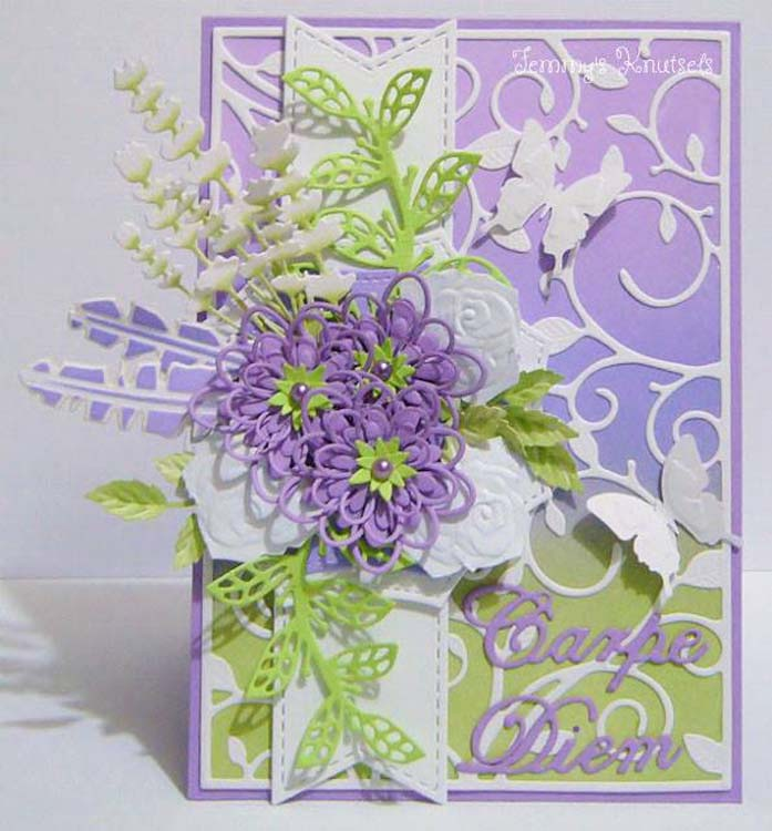 Nellie's Choice - Hobby Solution Die Spring Flowers