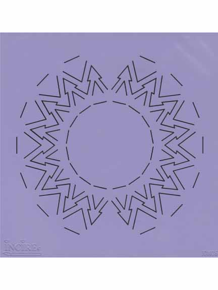 Ecstasy Crafts Incire Template - Circle