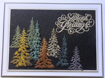 Ecstasy Crafts Festive Collection Seasons Greetings