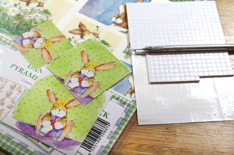 Ecstasy Crafts Dandelion Decoupage Pyramid 3 Sheets
