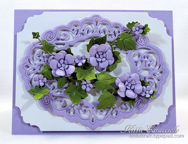 Ecstasy Crafts Finishing Touches Collection Trailing Ivy Die