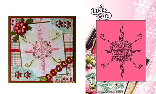 Ecstasy Crafts Lines & Dots - Star