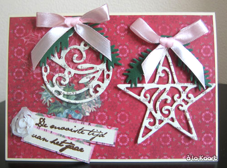 Ecstasy Crafts Marianne Design: Creatables Dies - Star And Round Bauble