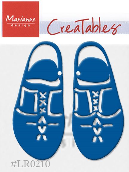 Ecstasy Crafts Marianne Design: Creatables Dies - Wooden Shoes