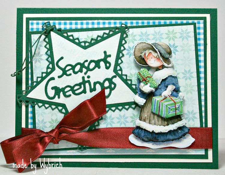 Ecstasy Crafts Marianne Design: Creatables Dies - Merry Christmas /seasons Greetings