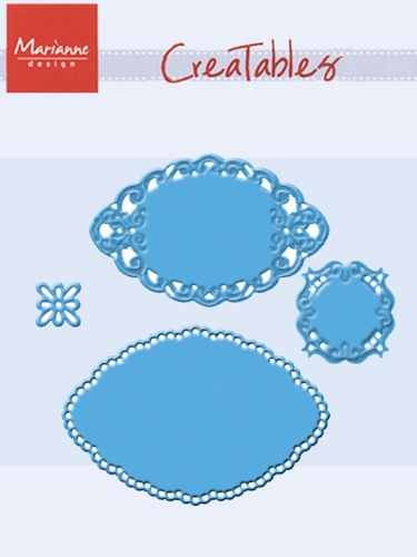 Ecstasy Crafts Marianne Design: Creatables Dies - Small Ovals By Petra