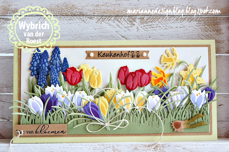 Ecstasy Crafts Marianne Design: Creatables Dies - Tiny's Grape Hyacinths