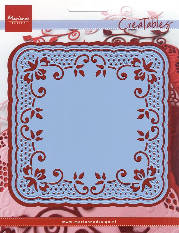 Ecstasy Crafts Marianne Design: Creatables Dies - Lace Doily