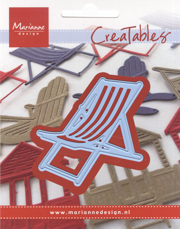 Ecstasy Crafts Marianne Design: Creatables Dies - Deck Chair