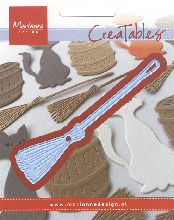 Ecstasy Crafts Marianne Design: Creatables Dies - Broom