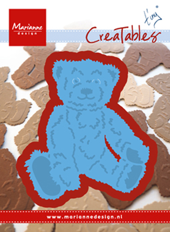 : Creatables Tiny's Teddy Bear Die