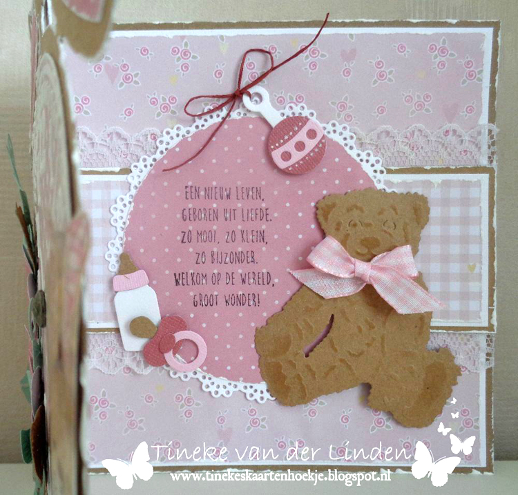 Ecstasy Crafts Marianne Design: Creatables Tiny's Teddy Bear Die