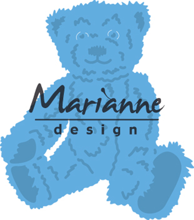 Marianne Design : Creatables Tiny's Teddy Bear Die
