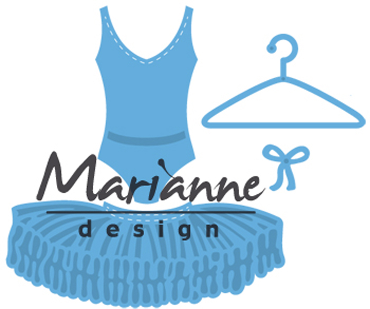 Marianne Design : Creatables Ballet Dress Die Set