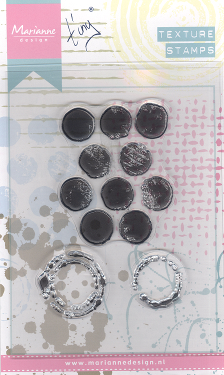 Ecstasy Crafts Texture Stamps: Dots