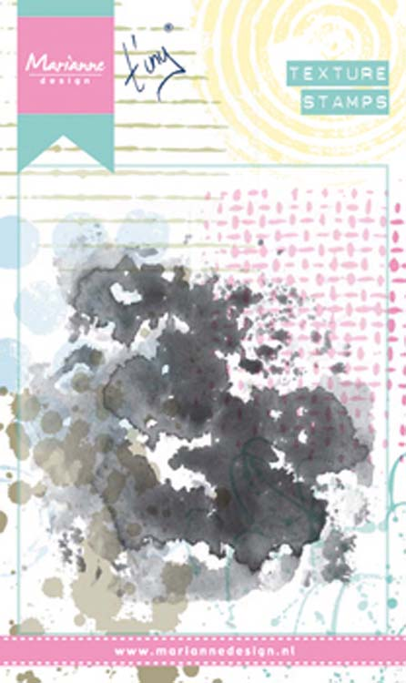 Ecstasy Crafts Marianne Design Stamps Tiny's Water Colour