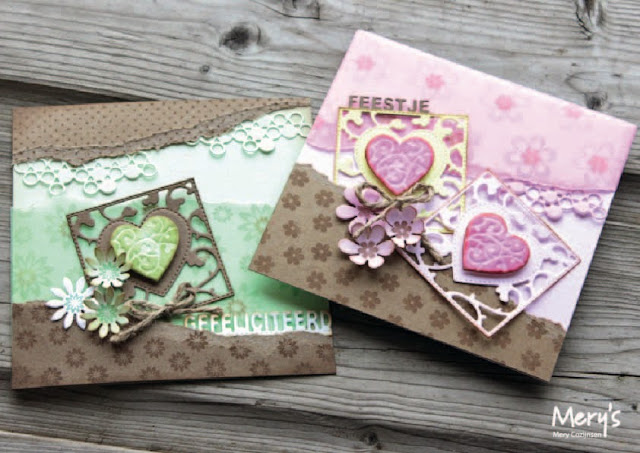 Ecstasy Crafts Joy! Crafts Cutting And Embossing Dies - Hearts