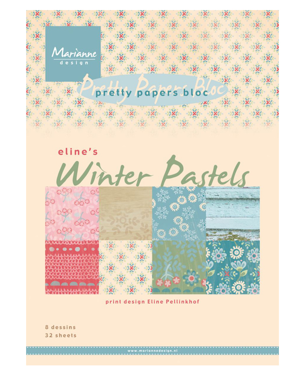 Pretty Paper Bloc - Eline's Winter Pastels