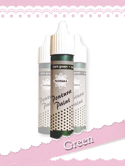 Ecstasy Crafts Pontura Paint - Dark Green 10 Ml