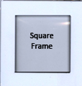 Foam Paint Frames - Square