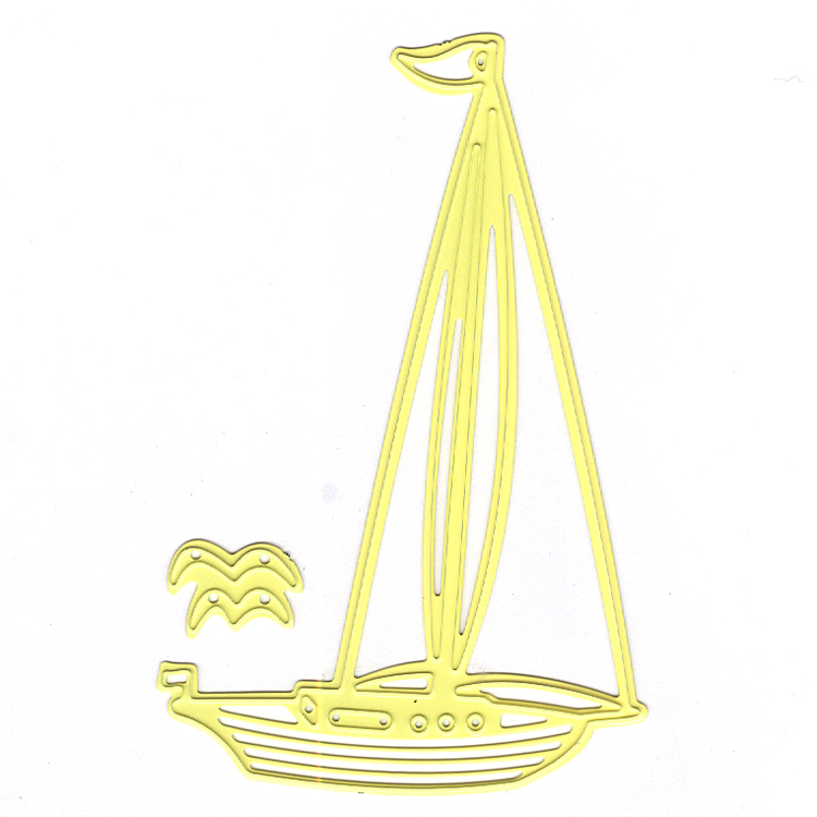 Nellie's Choice - Shape Die Sailing Boat