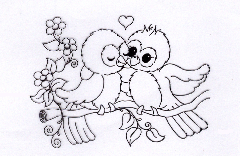 Clear Stamp - Spring Love