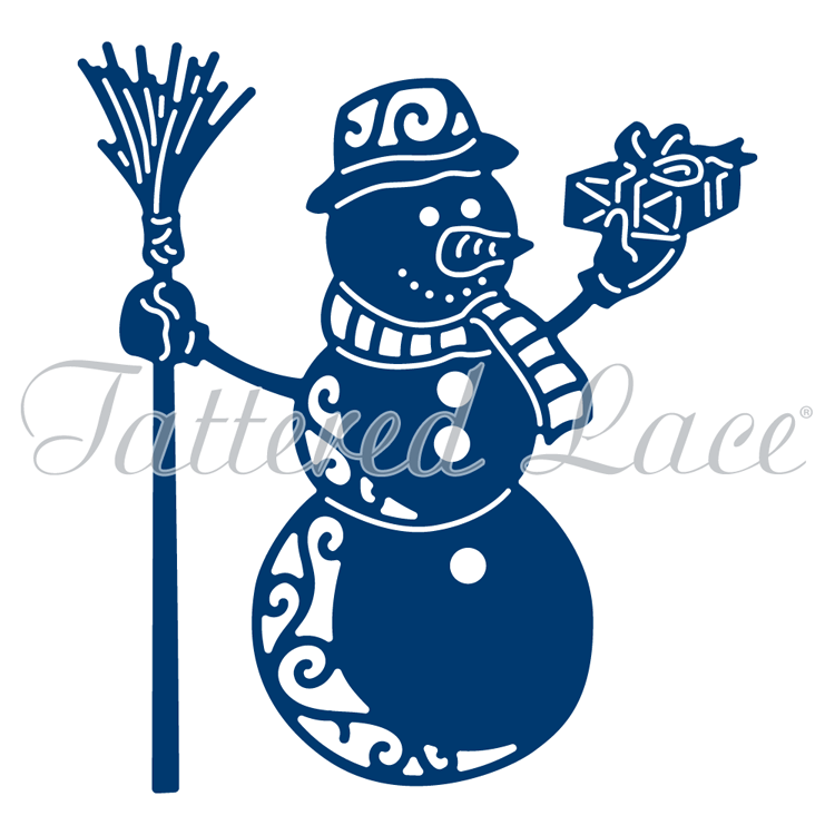 Tattered Lace Essentials By - Festive Snowman