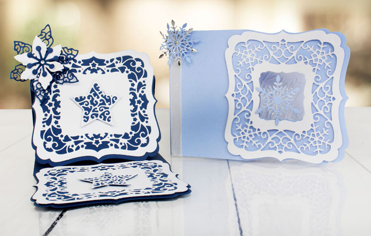 Essentials By  - Snowflakes Craft A Card Collection