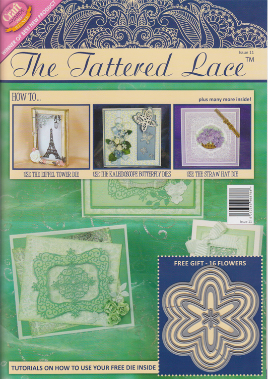 Ecstasy Crafts Tattered Lace Magazine #11