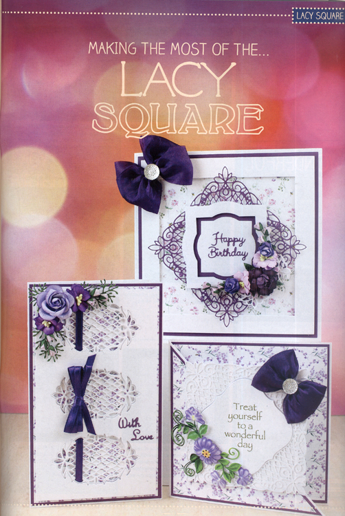 Ecstasy Crafts Tattered Lace Magazine #25 (includes Free Die)