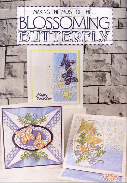 Ecstasy Crafts Tattered Lace Magazine #28 (includes Free Die)