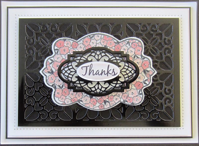 Ecstasy Crafts Ce Foam Stamps -Perfect Posies
