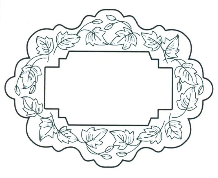 Creative Expressions Ce Foam Stamps - Tumbling Leaves