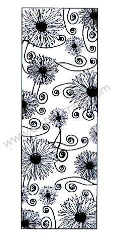 Creative Expressions John Lockwood Stamps - Daisy Striplet